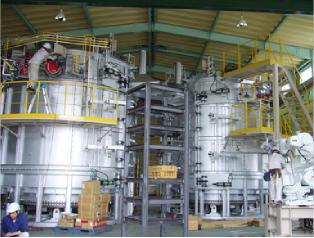 アルミ部品熱処理炉